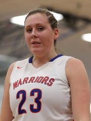 Mackenzie Blazek averaged a double-double each of her