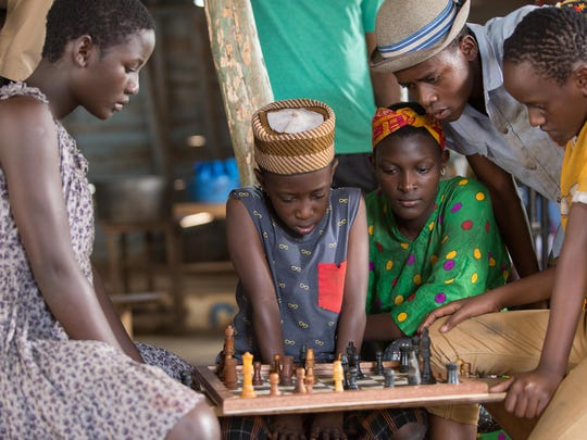 "Madina Nalwanga is Phiona Mutesi in Disney's""Queen"