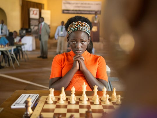 "Madina Nalwanga is Phiona Mutesi in Disney's""Queen of Katwe,"" the vibrant true story of a young girl from the streets of rural Uganda whose world rapidly changes when she is introduced to the game of chess. David Oyelowo and Lupita Nyong'o also star in the film, directed by Mira Nair."