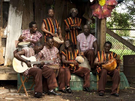 Sierra Leone's Refugee All Stars have been touring