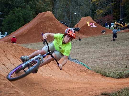 Bergen Khare is seen here riding at the REEB Ranch in Brevard. The Transylvania County Schools Cycling Club will hold an open meeting for all interested riders, families and community partners at 5 p.m. Thursday at Brevard Middle School.