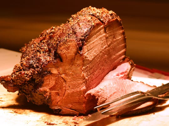 Many restaurants in local gaming properties are carving prime rib as a choice at their Christmas dinners.