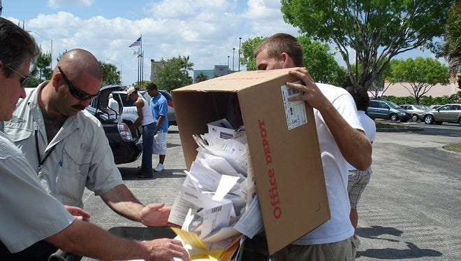 A shredding event is designed to help residents avoid issues with identity theft.