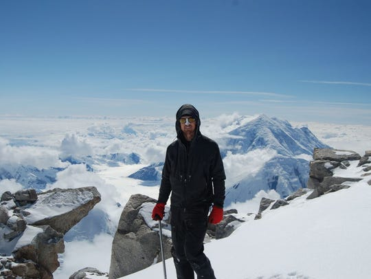 Todd Pendleton climbed Denali in Alaska in 2016.