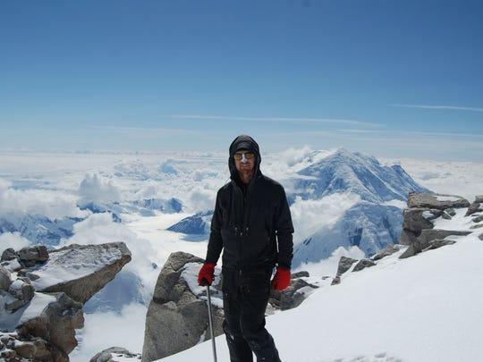 Todd Pendleton climbed Denali in Alaska in 2016.