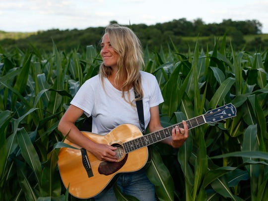 Lissie Maurus, a folk musician originally from the
