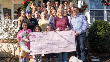 The Kortney Rose Foundation marks a decade of pediatric brain tumor research funding with annual donation to CHOP