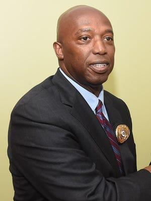 Donald Thompson, Opelousas police chief.