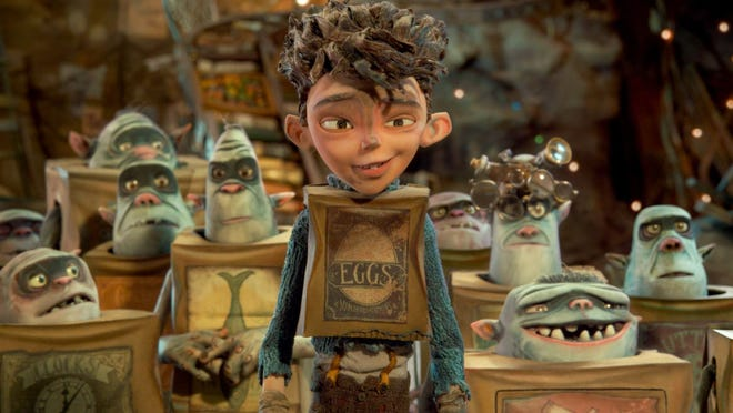 """The Boxtrolls"" is a tale of a boy raised by trash-collection trolls."