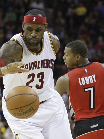 LeBron James is always good for fantasy point production,