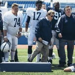 A first look at the 'Paterno' HBO movie coming this spring includes photos, more details