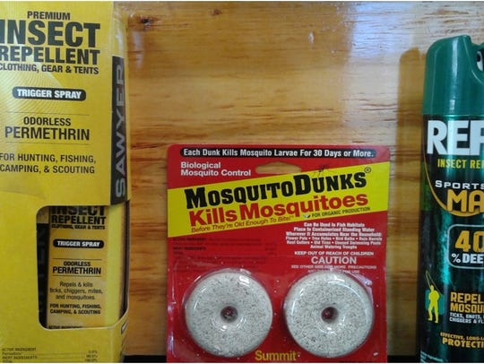 These are proven methods for mosquito control. Pictured