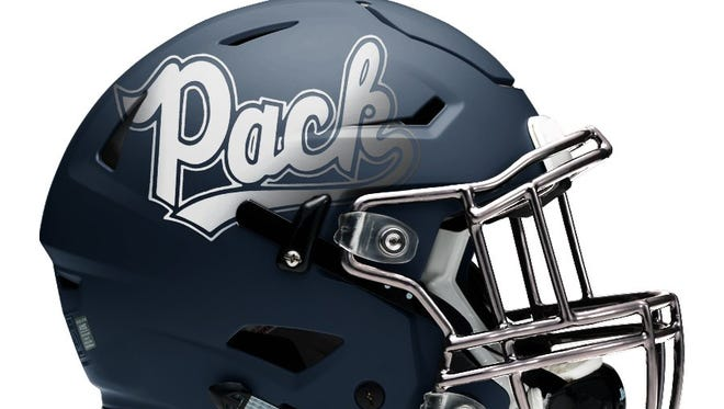 The Nevada football team will have a new helmet in 2016.