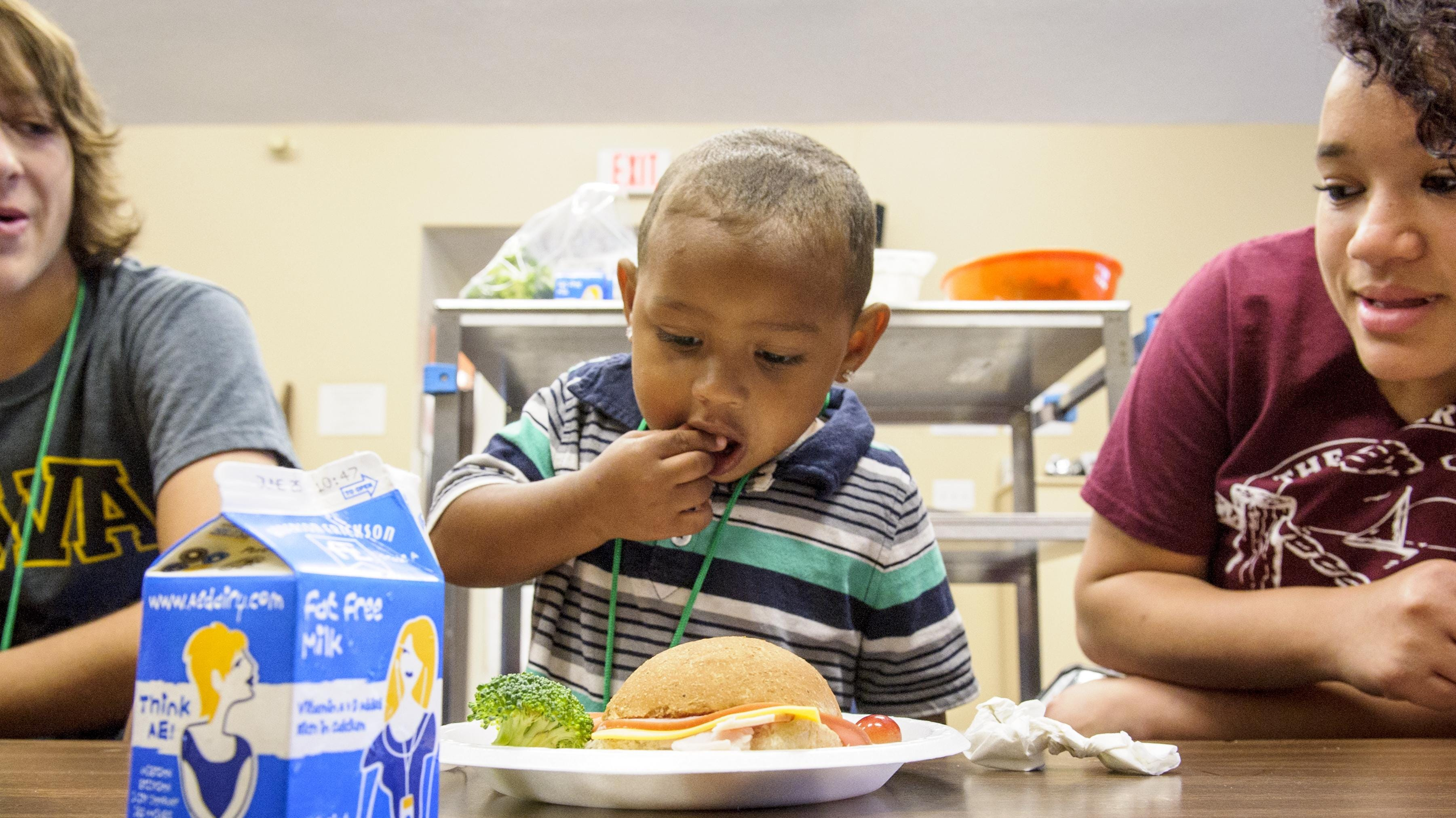 summer meals sites in the Des Moines