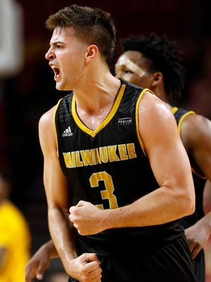 Milwaukee guard Brock Stull led the Panthers with 19 points.