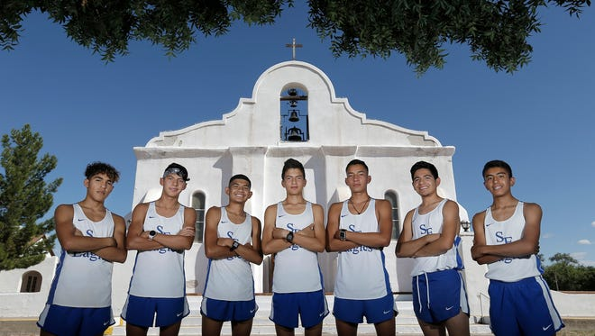 The San Elizario cross country team will try to do something no El Paso team has done, win three consecutive state championships.