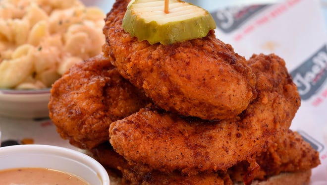 Joella's Hot Chicken opens Jan. 26, 2017, at 4715 E. 96th St. Be one of the first 100 people in line and you'll win free hot chicken for a year.