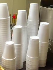 Bill would prohibit use of Styrofoam containers.