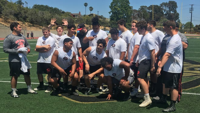 Grace Brethren's A and B teams finished first and second at the Ventura County Coaches' Association annual Hogs Tournament on Saturday at Ventura High.