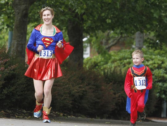 Community Action Superhero Dash:The 7th annual collection