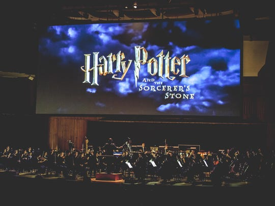 """CineConcerts' """"Harry Potter and the Sorcerer's Stone"""" concert, seen on stage in Baltimore in 2016, plays Newark and New York City this spring."""