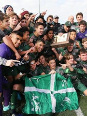 Delbarton celebrates its fifth NJSIAA Non-Public A