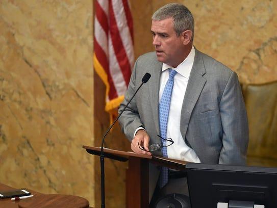 House Speaker Philip Gunn pledged to donate $100 to