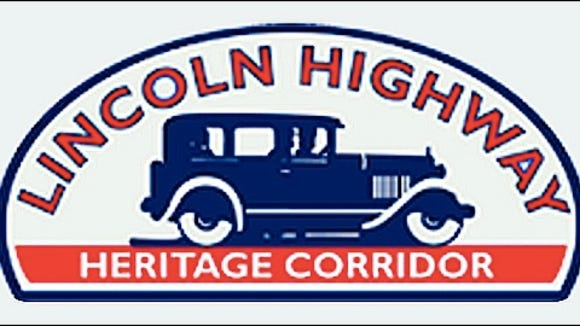 Symbol of the Lincoln Highway Heritage Corridor, which was designated in 1995 by the Commonwealth of Pennsylvania; original counties included: Westmoreland, Somerset, Bedford, Fulton, Franklin and Adams.