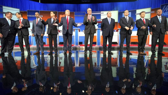Lots of tough talk, but no specifics, from GOP contenders