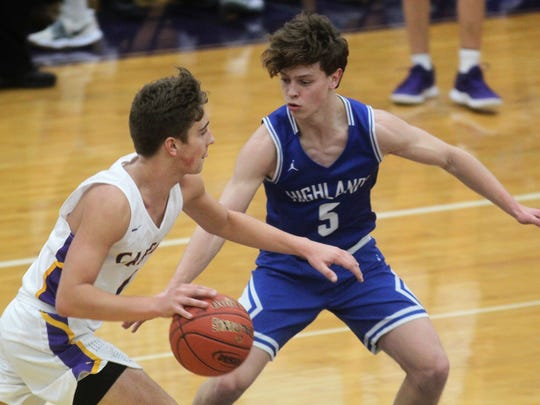 Highlands junior Jacob Brass guards Campbell County