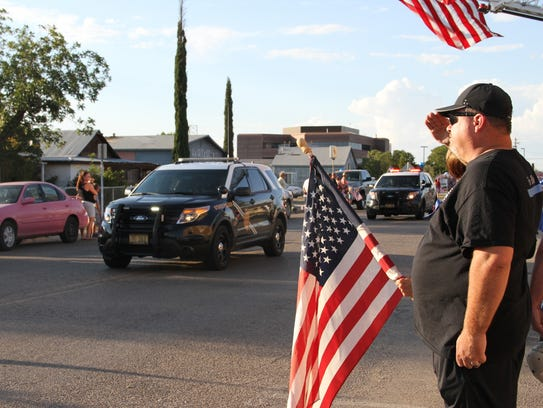 Former Alamogordo Police Department officer Doyle Syling