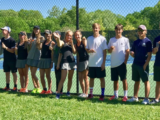 Picture are 9 A-AA tournament champions and runners-up, all of whom advance to Regionals. (Left to right): Daniel Hatcher, Will Reeves, Ava Woodard, Kenna Pruitt, Annalee George, Carly Despain, Ashlyn Melton, Alex Pachciarz, Dovrick Binkley, Lucas Bagwell, Daniel Henderson, Bailey Wheeler.