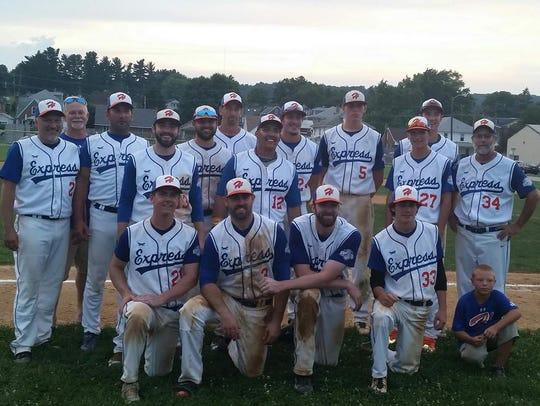 The Hallam Express won the Susquehanna League regular