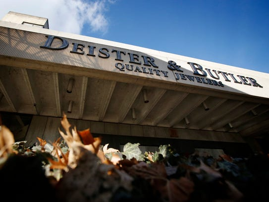 The former Deister & Butler Quality Jewelry shop is