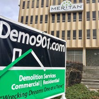 East Memphis office building being demolished