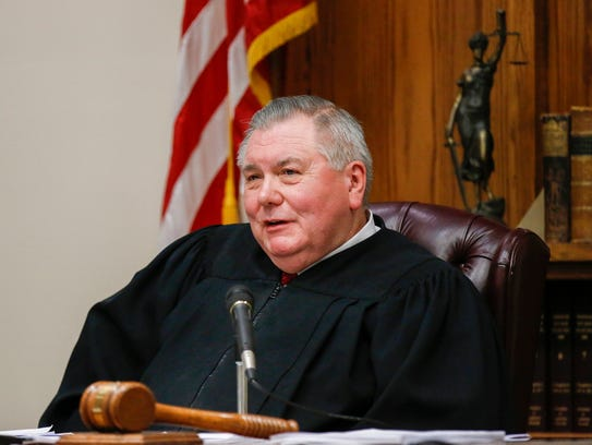 Judge Thomas Mountjoy sentenced Craig Wood to death