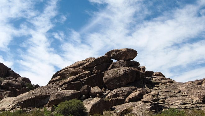 Who doesn't like boulders? Take a hike at Hueco Tanks State Park and Historic Site to photograph desert landscapes and wildlife. It's about 32 miles northeast of El Paso. Take U.S. Highway 62/180, then turn north on Ranch Road 2775. There are signs pointing the way. Take water and sunscreen.