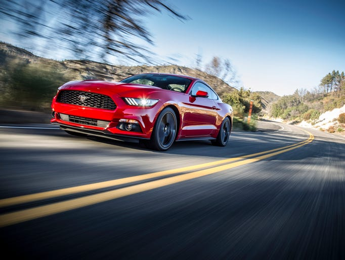 The 2015 Ford Mustang. (Photo: Ford)
