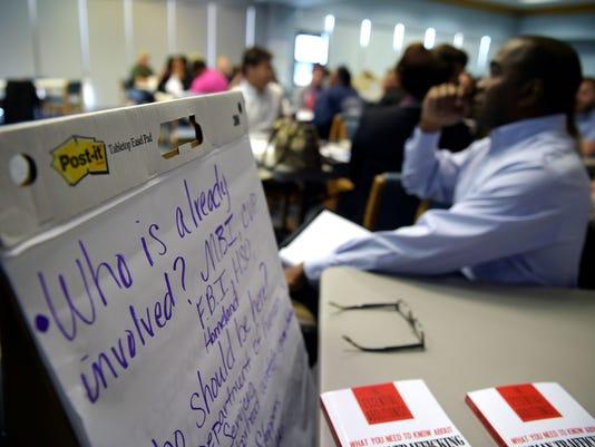TCL Human Trafficking Training at MLEOTA