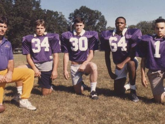 Opelousas Catholic standouts from the 1990s Eddie Stelly,