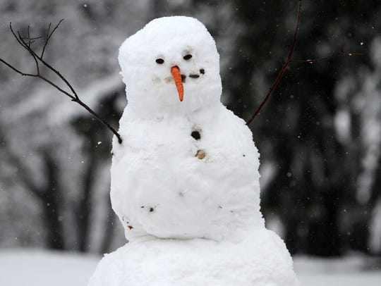 Ocean Township is holding a contest to see who can build the best snowman. The contest is for residents of Ocean Township.