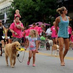 Dogs will take to the streets for Paws on Palafox