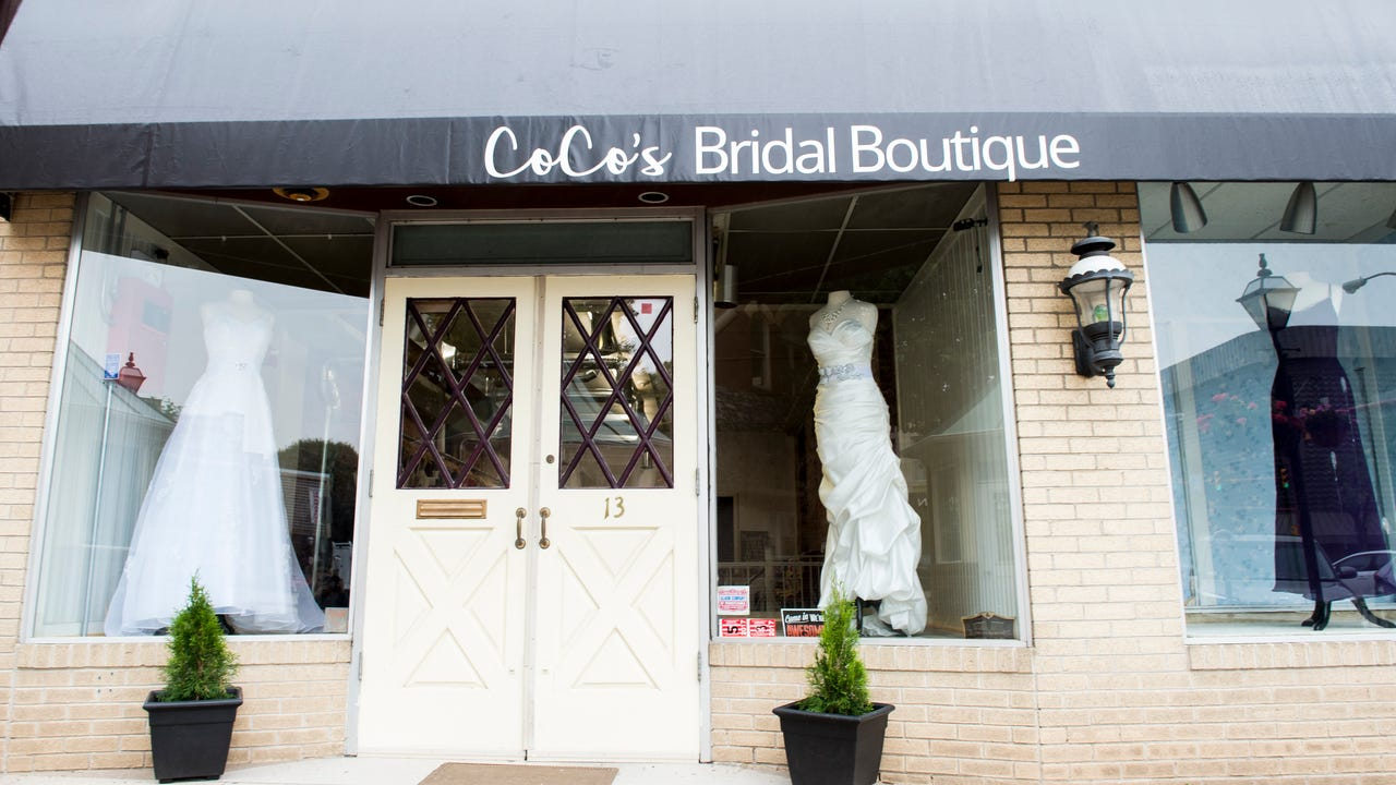 CoCo's Bridal Boutique on Center Square in Hanover, formerly Yvonne's Bridal Boutique, has a new owner and a new look.