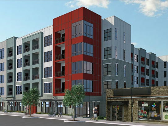 This is the latest rendering for a proposed downtown