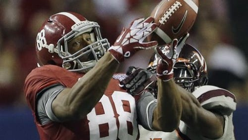 O.J. Howard has talent to be a star in Alabama offense.