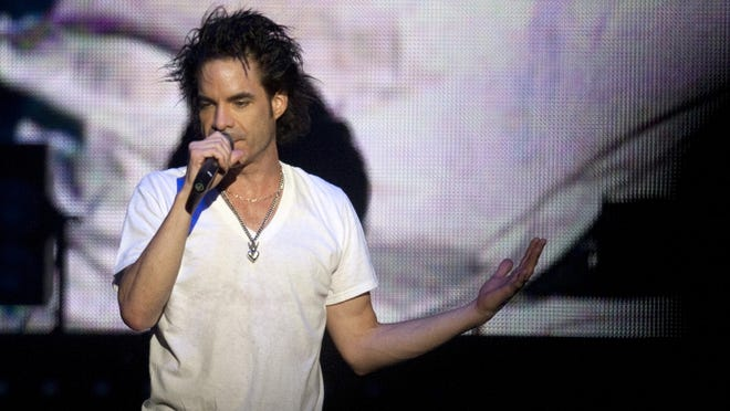 Patrick Monahan will perform with Train on Dec. 7 at the Indiana State Fairgrounds Coliseum.