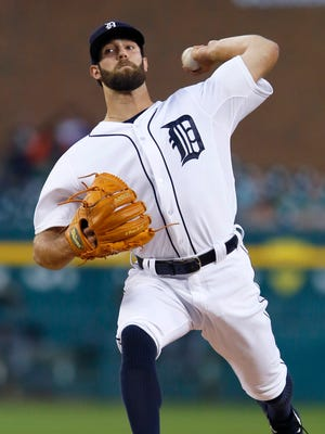 Pitcher Daniel Norris of the Detroit Tigers delivers against the Chicago White Sox during the second inning at Comerica Park on September 22, 2015 in Detroit, Michigan.
