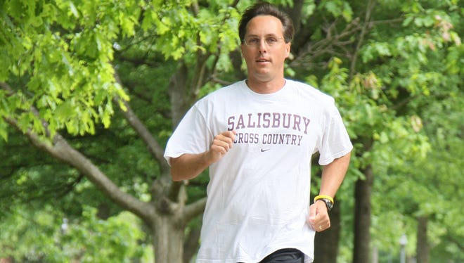 Jim Jones, Salisbury University's cross country and track and field coach, is shown at SU. Salisbury University Cross Country is one of the sponsors of the Summer Cross Country Series.