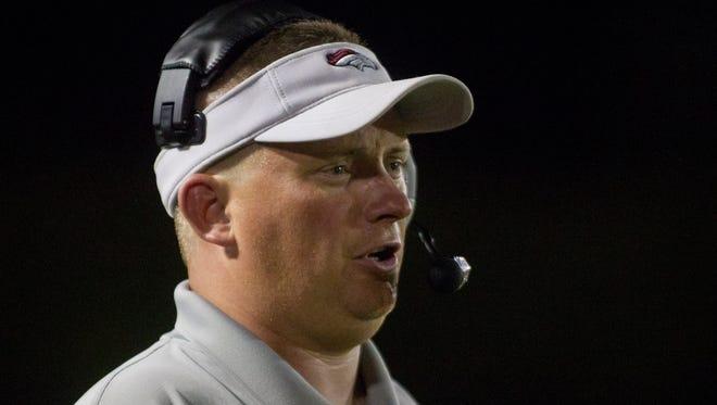Former McClintock High head coach Matt Lewis.