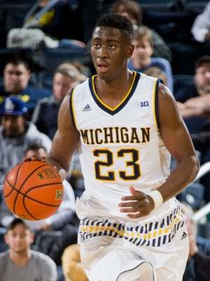 Michigan guard Caris LeVert.